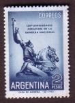 Stamps : America : Argentina :  150 aniversario de la creación de la Bandera Nacional
