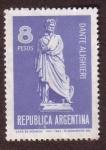 Stamps : America : Argentina :  Dante Alighieri