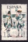 Sellos de Europa - España -  sargento y granadero.  Toledo 1750