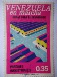 Sellos de America - Venezuela -  Venezuela en Marcha-Obras para el Desarrollo-Parques Industriales