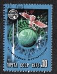 Sellos de Europa - Rusia -  Meteorología Espacial