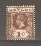 Stamps Sri Lanka -  KING  GEORGE  V