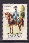 Sellos de Europa - España -  rgto. de Montesa. Línea 1788