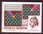 Stamps Argentina -  Introducción de la Electrónica a la Explotación Postal