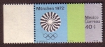 Stamps Mexico -  Munchen 1972