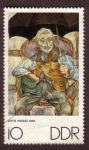 Stamps Germany -  Otto Nagel 1935