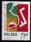 Sellos de Europa - Polonia -  50º aniv. Polacos en Alemania
