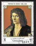 Stamps United Arab Emirates -  Ajman, Retrato de Oswolt Krel, 1499