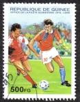 Sellos de Africa - Guinea -  Football