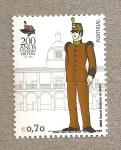 Stamps Portugal -  200 Años Colegio Militar
