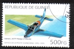 Sellos del Mundo : Africa : Guinea : Valmet L-90TP Redigo