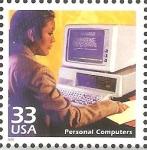 Stamps United States -  CELEBRAR  EL  SIGLO.   ORDENADORES  PERSONALES.