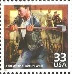 Sellos de America - Estados Unidos -  CELEBRAR  EL  SIGLO.   DERRIBAMIENTO  DEL  MURO  DE  BERLIN.