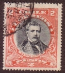 Stamps : America : Chile :  Domingo Santa María