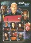 Stamps Oceania - Palau -  2437 a 2442 - Star Trek, película de ciencia ficción