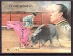 Sellos de Europa - España -  curro romero- toros