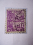 Stamps Switzerland -  Paisaje - Helvetia