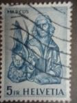 Stamps Europe - Switzerland -  Helvetia - Marcus.