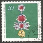 Stamps Germany -  1371 - Obra de arte de Dresde
