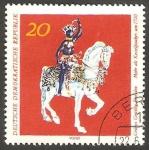 Sellos de Europa - Alemania -  1373 - Obra de arte de Dresde
