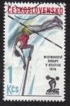 Sellos del Mundo : Europa : Checoslovaquia : Campeonato de Europa de Atletismo 1978