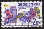 Sellos del Mundo : Europa : Checoslovaquia : Campeonato de Europa de hockey sobre hielo 1978