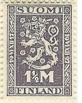 Stamps Finland -  10 º aniversario de la independencia