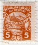 Stamps of the world : Uruguay :  Encomiendas