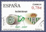 Sellos del Mundo : Europa : España :  RESERVADO Edifil 4341 Centenario Real Betis Balompié 0,78 (3)