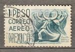 Sellos de America - México -  Danza de la Media Luna (346)
