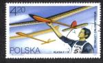 Sellos de Europa - Polonia -  Clase del aeroplano modelo F1 A