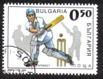 Stamps Bulgaria -  Cricket
