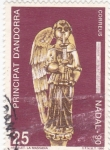 Stamps Andorra -  NADAL-90 -Angelet La Massana