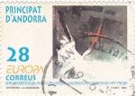 Stamps Andorra -  EUROPA- Ilustraciones