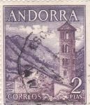 Sellos de Europa - Andorra -  Santa Coloma