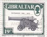 Sellos de Europa - Gibraltar -  64 POUNDER 1873