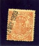 Stamps Spain -  Timbre movil. Escudo de España