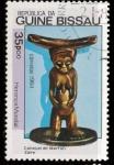 Stamps Guinea Bissau -  cabezal de martin
