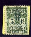 Stamps Spain -  Escudo de la Ciudad