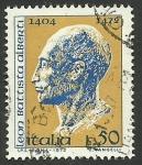 Stamps Italy -  Leon Battista Alberti