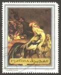 Sellos de Asia - Emiratos Árabes Unidos -  Fujeira - Cuadro