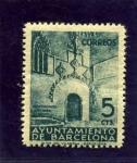Sellos del Mundo : Europa : España : Puert Gotica del Ayuntamiento de Barcelona