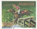 Sellos de Africa - Rwanda -  OLIMPIADA DE LOS ANGELES 1984