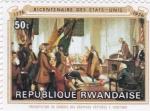 Sellos de Africa - Rwanda -  BICENTENARIO DE LOS ESTADOS UNIDOS 1776-1976