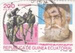 Stamps Equatorial Guinea -  GRANDES MÚSICOS- FAUSTO