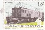 Stamps Equatorial Guinea -  LOCOMOTORA JAPONESA 1932