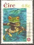 Stamps Ireland -  OBRAS  GANADORAS  EN  CONCURSO INFANTIL  TEXACO.  RANA.