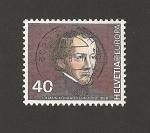 Stamps Switzerland -  Johann Konrad Kern, político