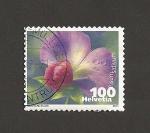 Sellos de Europa - Suiza -  Pisum sativum (guisante)