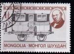 Sellos del Mundo : Asia : Mongolia : Ferrocarril